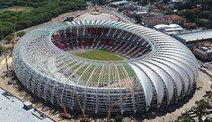 Im Stadion von Porto Alegre sollen WM-Gruppenspiele ausgetragen werden