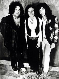 West, Bruce & Laing (Leslie West and Corky Laing of Mountain with Jack Bruce of Cream)