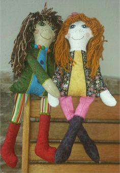Cute Rag Doll Quilting Projects, Embroidery Designs, Dolls, Christmas Ornaments, Sewing, Holiday Decor, Cute, Shelf, Inspiration