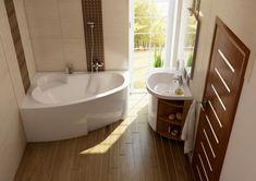 A sarokkád dekoratív külsejével stílust teremt a kis és nagy fürdőszobában is.
