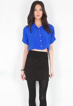 Naven Scout Blouse in Vegas Blue  $159