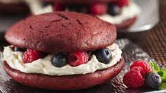 Red Velvet Cheesecake recipe from Betty Crocker