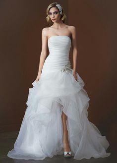 Hi low wedding dress