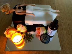 Massage therapy cake