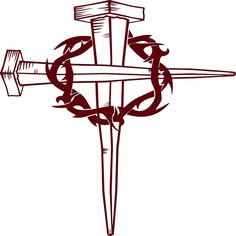 Jesus Christ Christian Cross Crown Of Thorns GOD Bible Car Truck Window Vinyl Decal Sticker Silhouette Clip Art, Silhouette Cameo Projects, Silhouette Design, Car Decals, Vinyl Wall Decals, Wall Stickers, Shilouette Cameo, Crown Of Thorns, Cross Designs