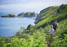 Gabriel Gilson captured Lundy island in Devon for her entry. It shows the popular hiking r. Bristol Channel, Ireland Pictures, North Somerset, Hiking Routes, 17th Century Art, Luxor Egypt, National Trust, Isle Of Wight, East Sussex