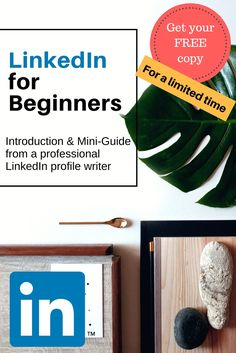 What LinkedIn Beginners Really Need to Know: Introduction & Short Guide for People New to the World of LinkedIn + Bonus Backgrounds Young Professional, Writing Services, Big Picture, Summary, Free Ebooks, Sentences, Need To Know, Writer, Profile