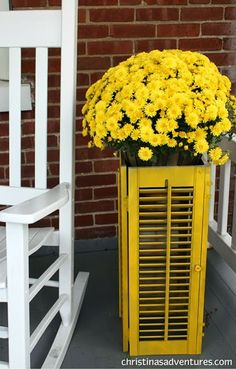 House Revivals: 21 Fabulous Ideas for Re-Using Shutters!