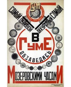 Плакат Родченко