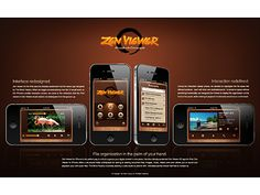 Zen Viewer for iPhone:   Proof-of-Concept by The Skins Factory