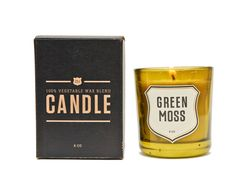 Izola Green Moss Candle. Even the boys will like 'em.