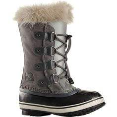 Sorel Youth Joan of Arctic BootsThese youth winter boots are modeled after the super popular women's adult Joan of Arctic boots and have all the same quality materials and features, but at a fraction of the price. There's nothing worse than having cold, Sorel Kids, Warm Winter Boots, Winter Fun, Sorel Joan Of Arctic, Carhartt Jacket, Sorel Boots, Waterproof Winter Boots, Suede Leather, Sport Outfits