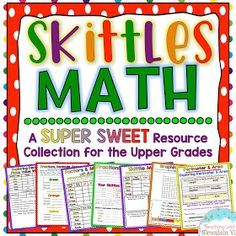 There are a few reasons that I always keep Skittles on hand in my classroom. First of all, they are one of my favorite sweet treats. Secon...