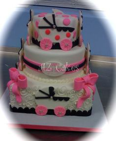 Victorian Lace Baby Cake | AZ Cakes By ElizabethAZ Cakes By Elizabeth