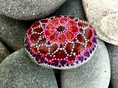 erizo de mar / pintado rocas / pintado piedras por LoveFromCapeCod