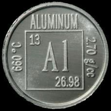 aluminum element coin aluminum element periodic table natural resources coke cans chemistry