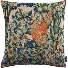 """Made in England Coussin en William Morris Frère lapin rouge 16/"""" X 16/"""""""