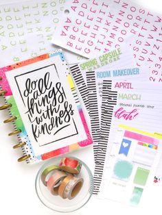 mini Happy Planner® notebook by mamib Design Team member Marisa Yciano | me & my BIG ideas