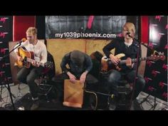 "Lifehouse performs ""Somewhere in Between"" inside My103.9's Live & Rare sessions at Uranus Recording in Tempe, Arizona."
