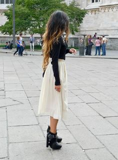 Black&White/Ombre Hair/ Sam Edelman Booties <3
