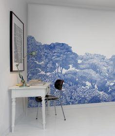 Hey, look at this wallpaper from Rebel Walls, Bellewood, Porcelain Toile! #rebelwalls #wallpaper #wallmurals