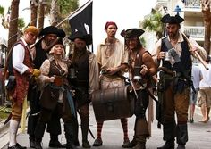 Pirate Fest Takes to the Streets of Tybee Island