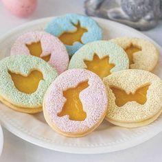 No Fail Sugar Cookie Recipe Jelly Cookies, Linzer Cookies, Chocolate Crinkle Cookies, Mini Cookies, Cupcake Cookies, Cupcakes, Easter Cookie Cutters, Cookie Cutter Set, Easter Cookies