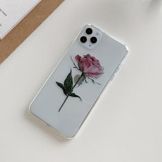 Vintage Rose Flower iPhone Case