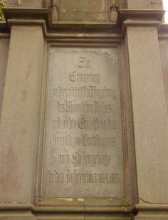 Erinnerungstein, Drachenfels - Foto: S. Hopp