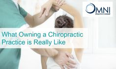 Owning a chiropractic practice can be like drinking water from a fire hose.  It completely consumes you physically, emotionally and intellectually. When you are ready to transition you need the experts at OMNI Chiropractic Practice Group by your side!