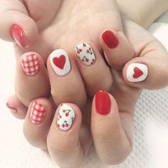 The advantage of the gel is that it allows you to enjoy your French manicure for a long time. There are four different ways to make a French manicure on gel nails. Trendy Nail Art, Cute Nail Art, Gel Nail Art, Pink Manicure, White Nails, Pink Nails, Manicure Ideas, Gel Manicures, Nail Art Cerise