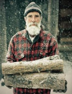 I WANT A BEARD THAT MATCHES THE COLOR OF THE SNOW.