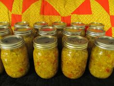Chow Chow - is a relish served with soup beans, ham, pork chops or anything!  It has a tangy taste and comes from fresh/pickeled vegetables. A mountain way not waste any ingrediants!