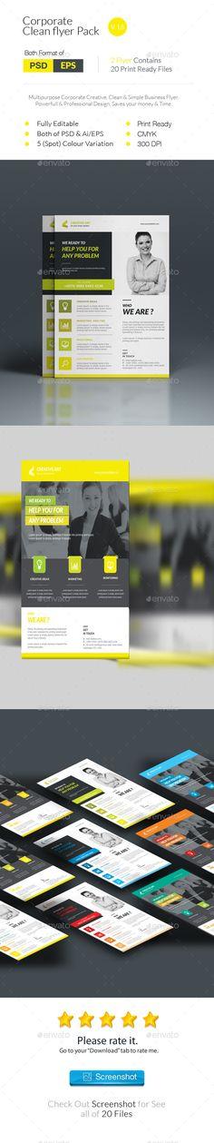 Corporate Business Flyer By SelenaparkerDeviantartCom On