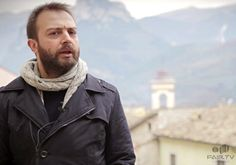In giro per Montefranco (TR), Valnerina. Umbria, Italy. Durante l'intervista con Simone Scaccetti.