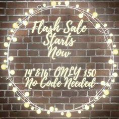 "📢FLASH SALE STARTS NOW📢 $50 BUNDLES for 14"" & 16"" Indian Raw Virgin Hair !!! Shop www.bijouimports.com  #BijouImports #BijouQueen #fashion #accessories #virginhair #fashionaccessories #eboutique #jewelry #atlanta #rawhair #IndianVirginHair #slay #hair #extensions #thursday #sale"
