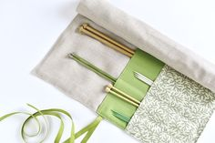 How to Sew a Simple Case for Your Knitting Needles