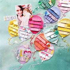 Paige Taylor Evans: Birthday Hugs Layout for Paige's Process at Big Picture Classes Birthday Scrapbook Pages, Album Scrapbook, Kids Scrapbook, Scrapbook Journal, Scrapbook Designs, Scrapbook Page Layouts, Scrapbook Paper Crafts, Scrapbooking Ideas, Birthday Hug