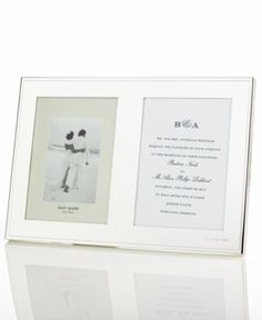 kate spade new york darling point double invitation frame picture frames home