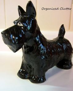 Black Ceramic Scottie