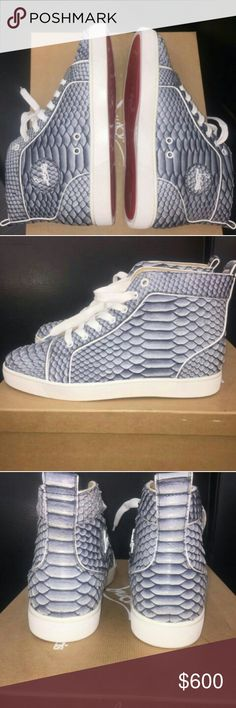 Christian Louboutin Brand new Christian Louboutin brand new out the box, and in multiple sizes. If you are interested in purchasing contact me at (860) 362-1184 Christian Louboutin Shoes Sneakers