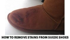 How To Remove Oil Stains From Suede Shoes And Boots-cornstarch, baby powder, dawn dish soap, eraser Clean Suede Shoes, How To Clean Suede, Suede Leather Shoes, Suede Boots, Remove Oil Stains, Grease Stains, Cleaning Grease, Cleaning Hacks, Cleaning Solutions