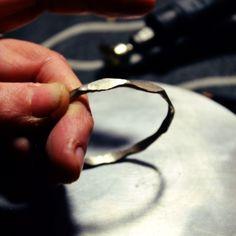 Hammered wire