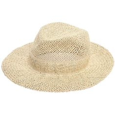 Scha Women Chicago Big D Straw Hat (7.009.155 VND) ❤ liked on Polyvore featuring accessories, hats, beige, straw hat, scha, brimmed hat, brim straw hat and beige hat