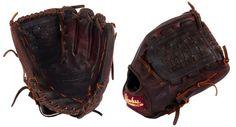 "12"" Basket Web Shoeless Joe Baseball Glove - 1200BWR - Handmade and Broken-In"