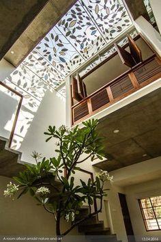 Awesome Awesome Tree Interior Design Ideas To Apply Asap. Tree Interior, Indian Home Interior, Indian Home Decor, Home Interior Design, Exterior Design, Interior And Exterior, Interior Decorating, Interior Garden, Interior Livingroom