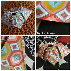 Pochon origami par By la Louze