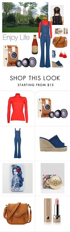 """""""Enjoy Life"""" by babydoll113 ❤ liked on Polyvore featuring MSGM, Dot & Bo, M.i.h Jeans, Castañer, Anna Sui and Marc Jacobs"""