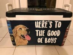 5 Steps to Creating the Best Formal Cooler Ever Sorority Canvas, Sorority Paddles, Sorority Crafts, Sorority Recruitment, Diy Cooler, Coolest Cooler, Formal Cooler Ideas, Frat Coolers, Painted Fraternity Coolers