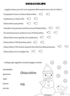 Italy For Kids, Words, Snow, Winter Time, Autism, Studying, Kids, Horse